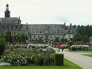 Gärten und Kloster von Valloires. © Wolf Meusel