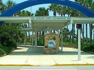 Eingang des Marineland of Florida. © US Dept of Transportation: Scenic Byways program